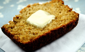 banana+bread+with+butter